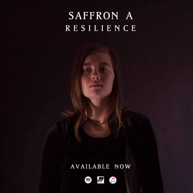 Saffron A, Resilience, available now at Spotify, BandCamp, and iTunes